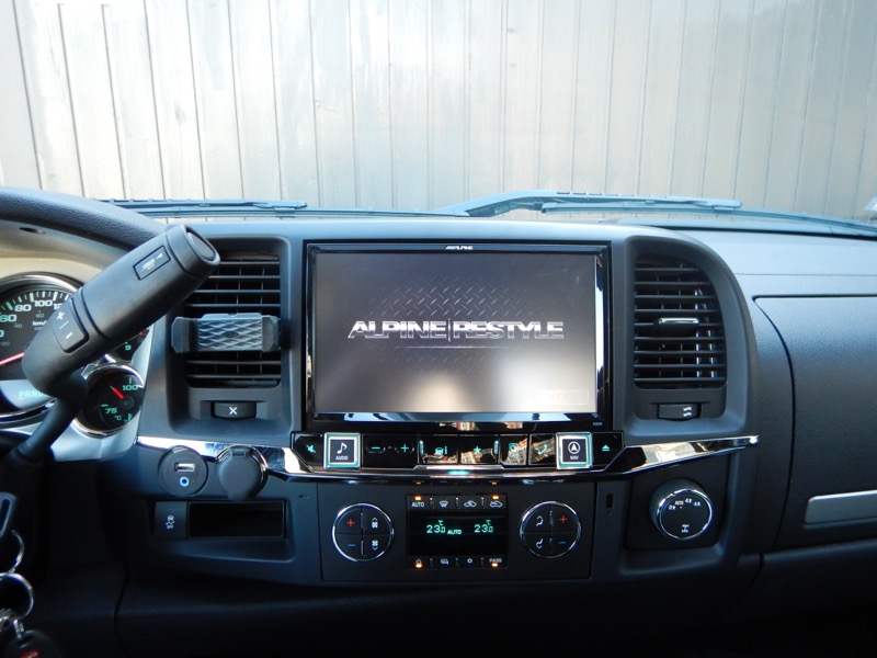 9″ Alpine Restyle In-dash Touchscreen for 2013 Silverado