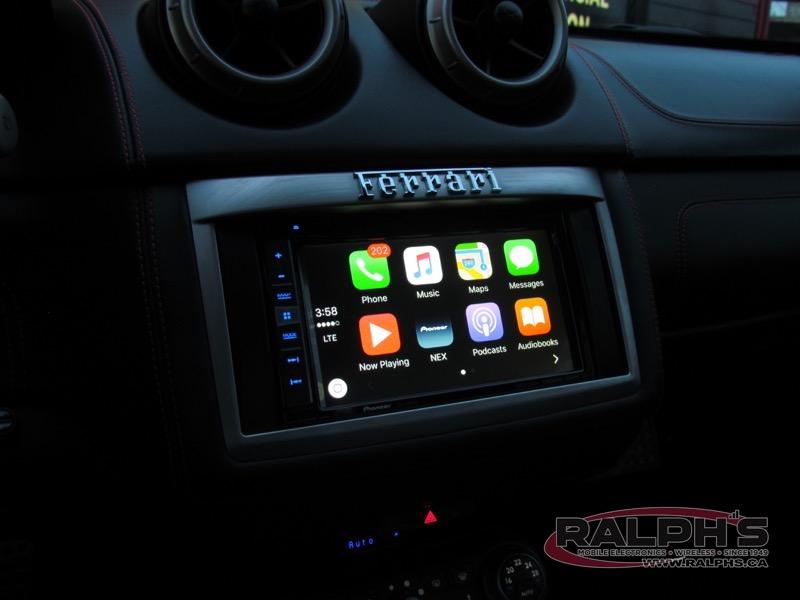 2011 Ferrari California Custom Audio Installation