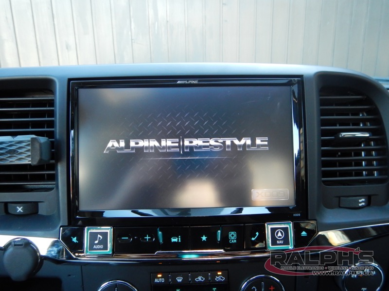 2015 Chevrolet Silverado Head Unit Replacement Alpine