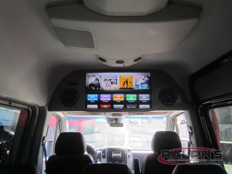 2015 Mercedes Benz Sprinter Customer Tv Install Ralphs