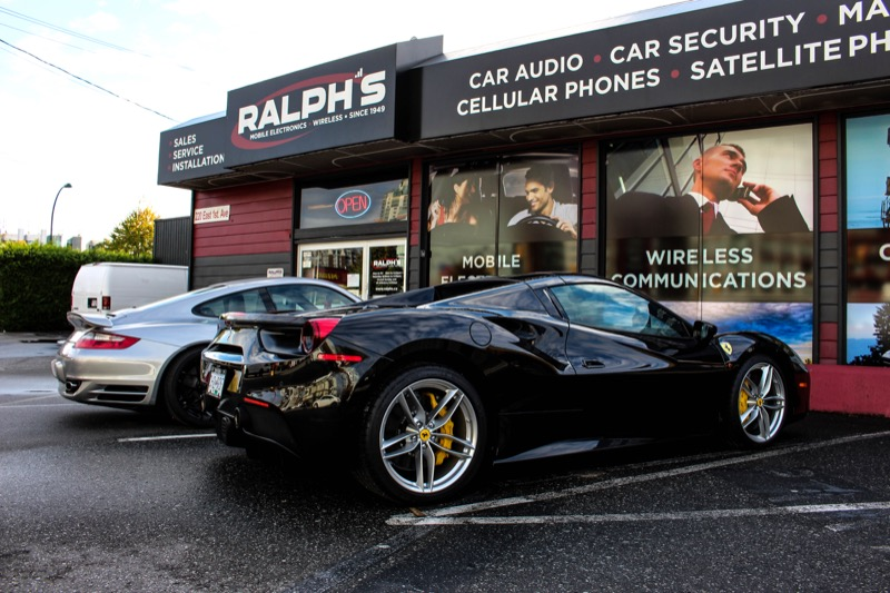 Ferrari Custom-Installed Laser And Radar System For Vancouver Client
