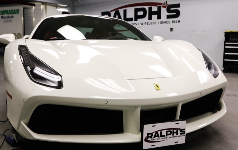 Kelowna Ferrari Owner Gets 488 GTB Audio System