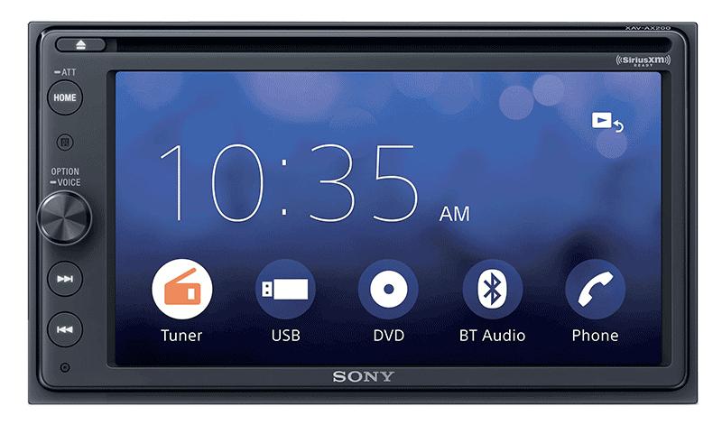 Product Spotlight: Sony XAV-AX200SXM