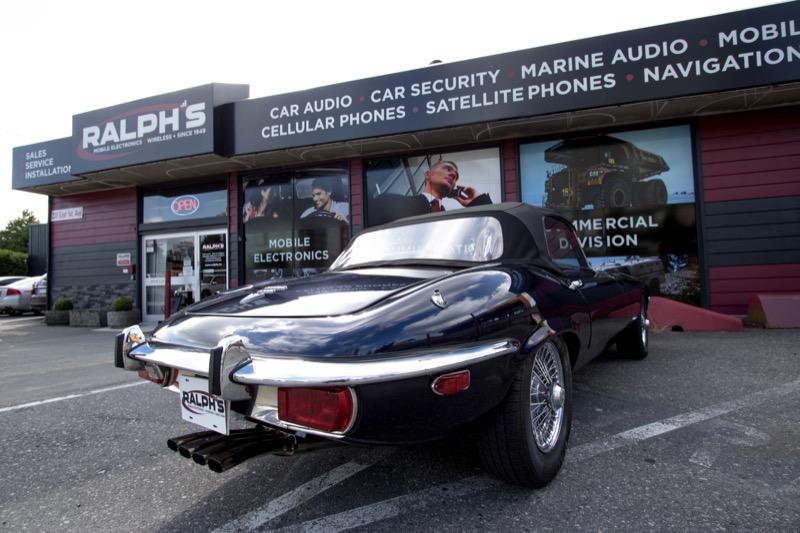 Vancouver Client Gets Classic Jaguar E-Type Audio System