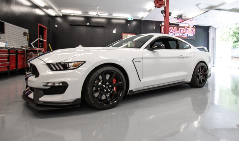 Vancouver Ford Client Gets Mustang GT350R Radar and Laser System