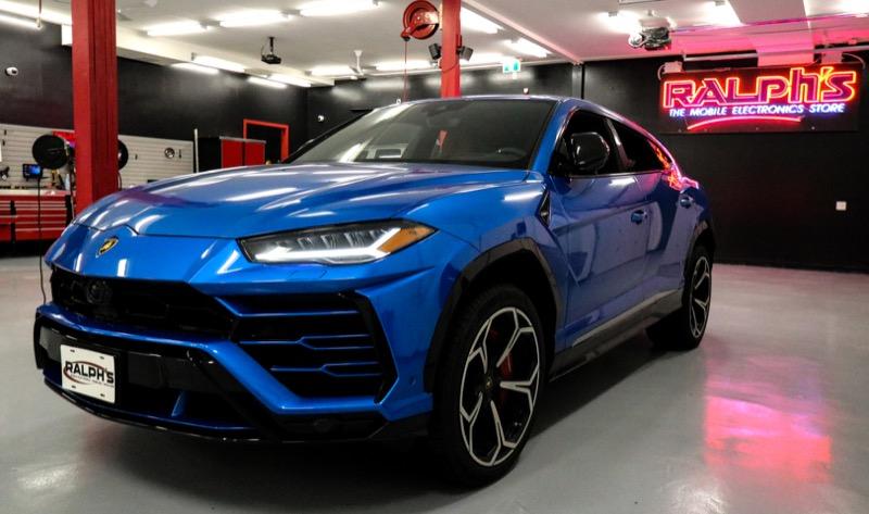 Laser and Radar Detector for Vancouver-based Lamborghini Urus Client