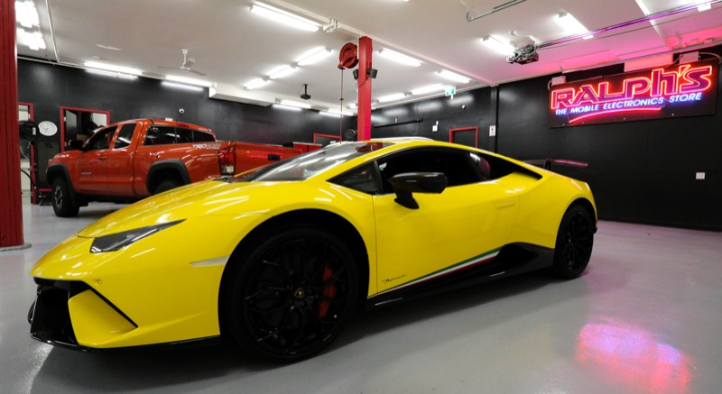 Radar and Laser Protection for 2019 Lamborghini Huracan from Vancouver