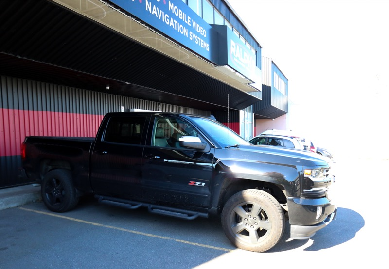 Dashcam and Blind Spot Cameras for Coquitlam Chevy Silverado