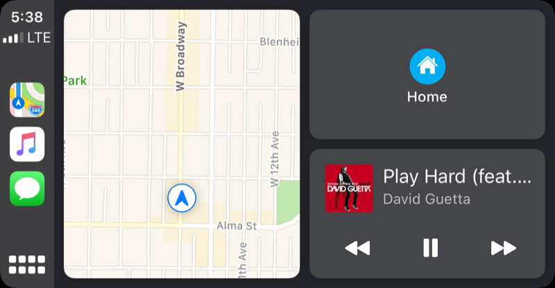 Updates to Apple CarPlay Smartphone Integration