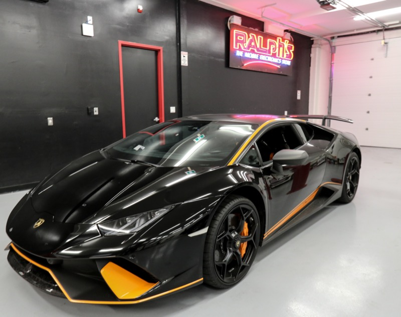 Dashcam Upgrade for Vancouver Lamborghini Huracán Performante