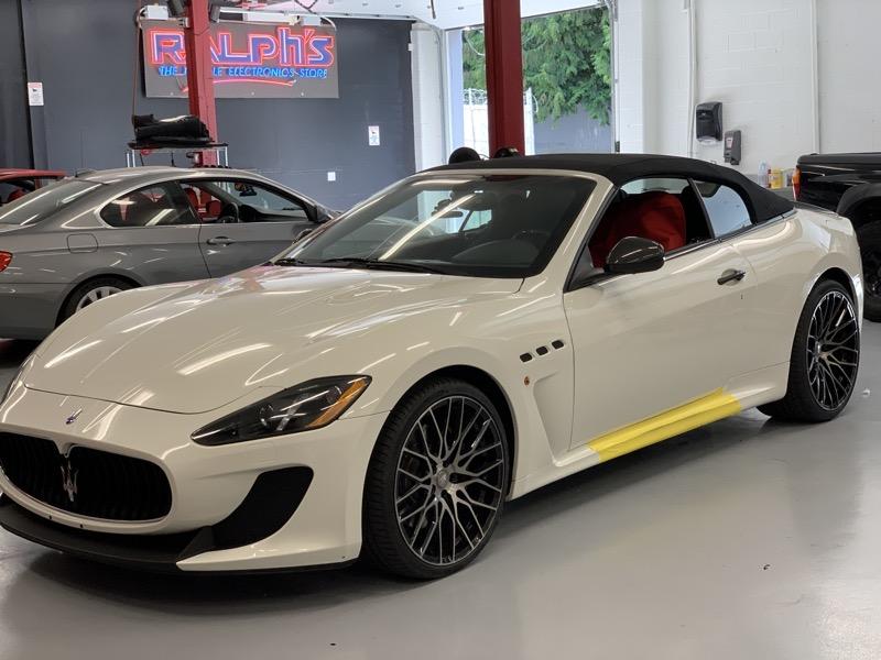 Radar, Stereo and Remote Start for Vancouver Maserati GranTurismo
