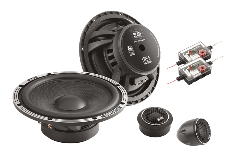 Product Spotlight: BLAM L200P 8-Inch Component Speakers