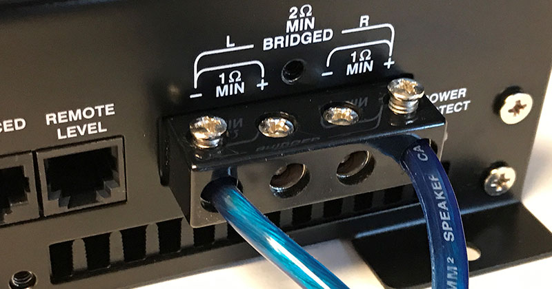 What is Car Audio Amplifier Bridging?
