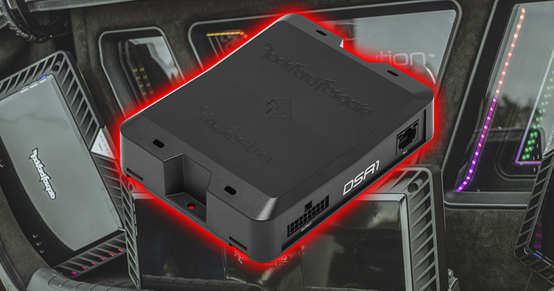Product Spotlight: Rockford Fosgate DSR1 Digital Signal Processor